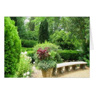 Cartes siège de jardin