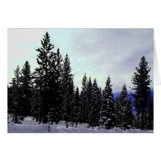 Cartes Sierra hiver de Nevada
