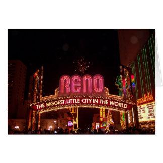 Cartes Signe de Reno
