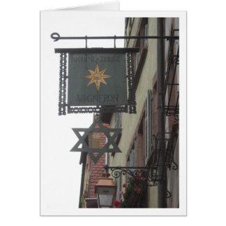 Cartes Signez dedans Ribeauville, Alsace en France