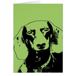 Cartes Silhouette de Doxie de st patrick - Winston