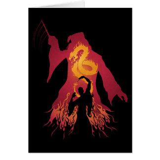 Cartes Silhouette de Harry Potter | Dumbledore