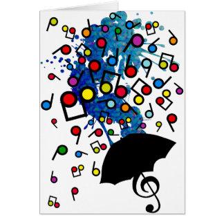 Cartes Singin sous la pluie