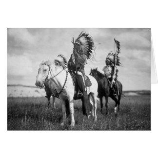 Cartes Sioux Chiefs, 1905