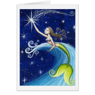 Cartes Sirène d'étoile filante