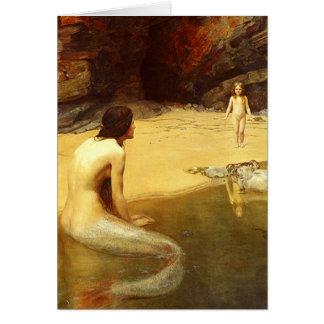 Cartes Sirène et enfant