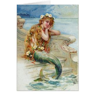 Cartes Sirène vintage par E.S. Hardy