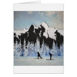 Cartes Ski de pays croisé