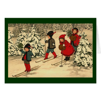 Cartes Ski d'hiver
