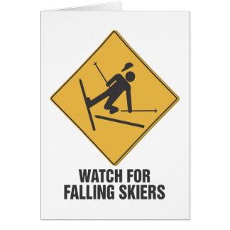 Cartes Skieurs en baisse