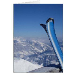 Cartes Skis de repos