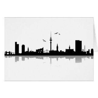 Cartes Skyline Hambourg