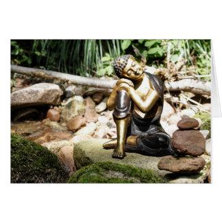Cartes sleeping buddha