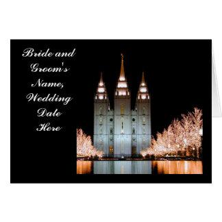 Cartes SLTemple-WeddingThankYou-Personnalisable