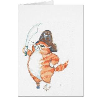 Cartes SnaggleToothTom… le pirate de gingembre…