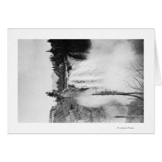 Cartes Snoqualmie, WA - automnes et photographie de loge