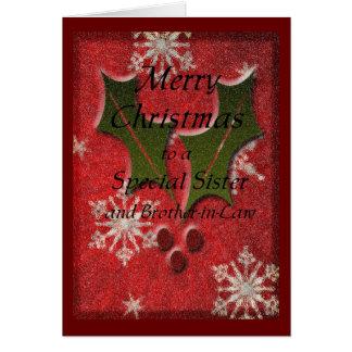 Cartes Soeur de Special de Noël