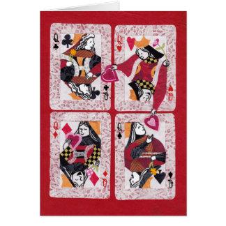 Cartes Soeur Valentine de la reine des coeurs