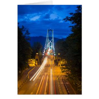 Cartes Soirée à Vancouver