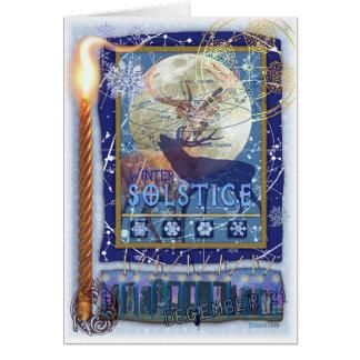 Cartes Solstice d'hiver