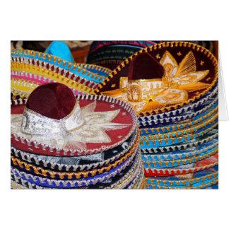 Cartes sombreros Muchas Gracias !