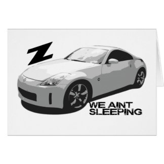 Cartes sommeil de 350Z Aint
