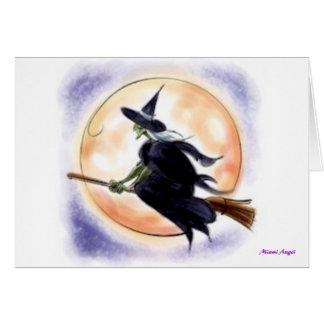 Cartes Sorcière de Halloween
