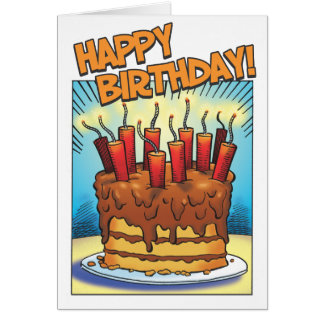 Cartes Souffle d'anniversaire