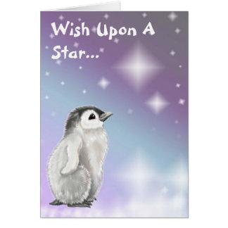 Cartes Souhait sur une étoile…
