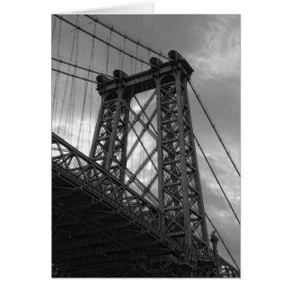 Cartes Sous la Pont-Nouvelle York ville de Williambsburg