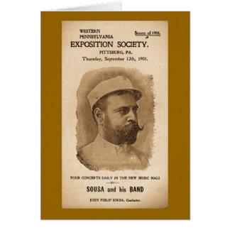 Cartes Sousa et sien réunissent 1901 - publicité vintage