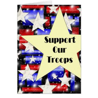 Cartes Soutenez nos troupes