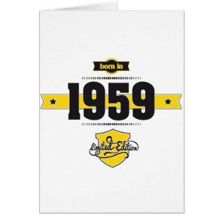 Cartes soutenu en 1959 (choco&yellow)