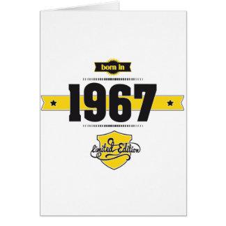 Cartes soutenu en 1967 (choco&yellow)