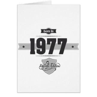 Cartes Soutenu en 1977 (Dark&Lightgrey)