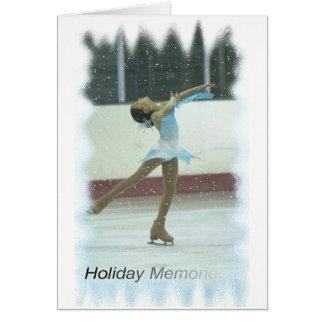 Cartes Souvenirs de patinage