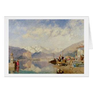 Cartes Souvenirs du Lago Maggiore, jour du marché à