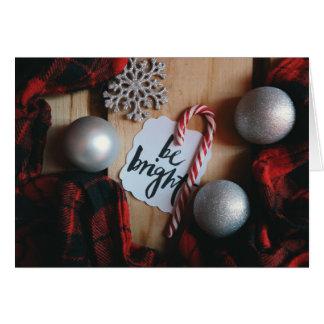 Cartes Soyez Noël lumineux