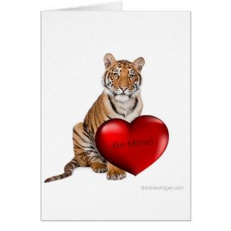 Cartes Soyez tigre de mine