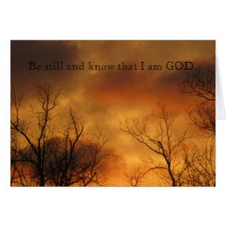 Cartes Soyez toujours et sachez que je suis 46:10 de