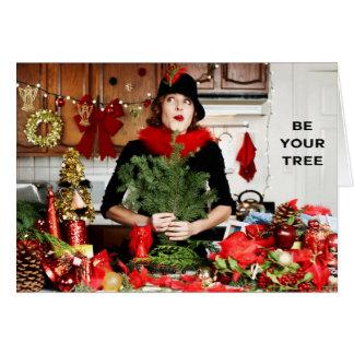 """Cartes """"Soyez votre arbre """""""