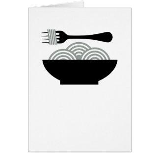 Cartes Spaghetti