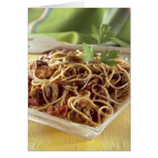 Cartes Spaghetti Bolonais pour l'usage aux Etats-Unis