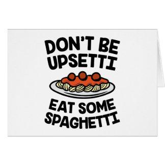 Cartes Spaghetti d'Upsetti