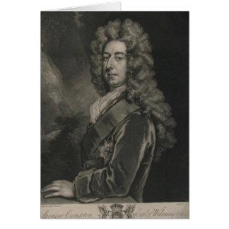 Cartes Spencer Compton, comte de Wilmington