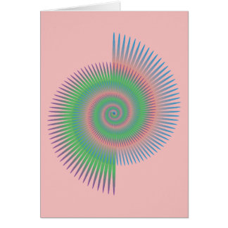Cartes Spirale de roue de Catherine