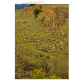 Cartes Spirales à la chaux Ridge