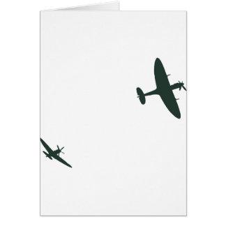 Cartes Spitfires de Supermarine