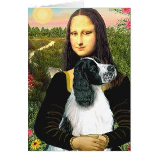 Cartes Springer anglais 7 - Mona Lisa
