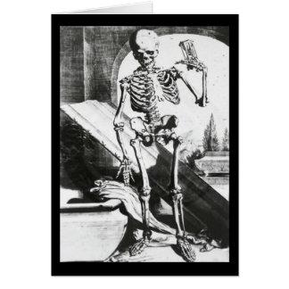 Cartes Squelette d'Anatomia Humani Corporis